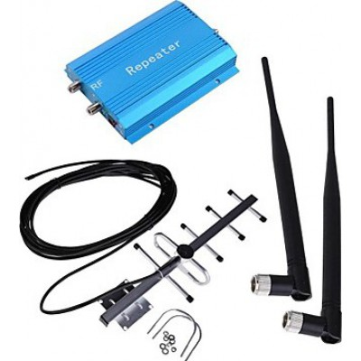 Cell phone signal booster. Amplifier and YaGi antenna kit