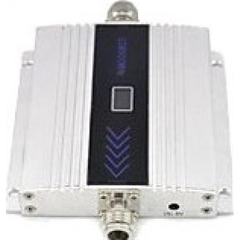 73,95 € Envío gratis | Amplificadores de Señal Amplificador de señal de teléfono móvil. Repetidor de señal y kit de antena Yagi. Cable de 10m. Pantalla LCD GSM