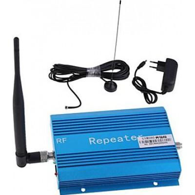 Amplificador de señal de teléfono móvil. Kit repetidor y antena