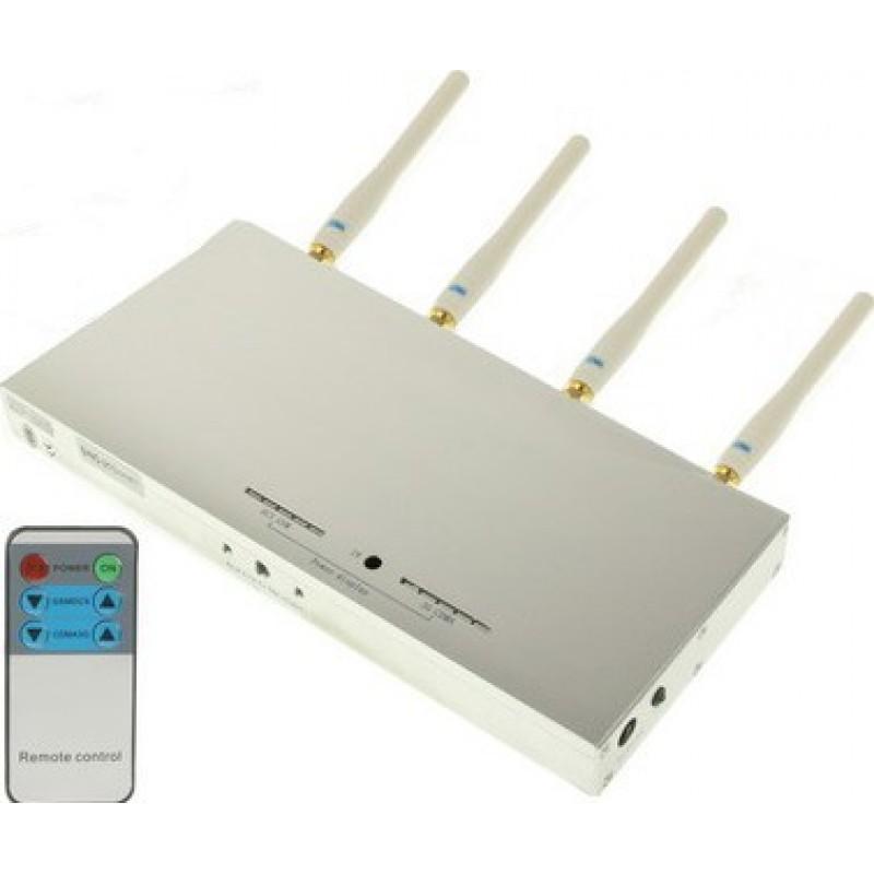 Handy-Störsender Fernbedienungssignalblocker GSM 20m