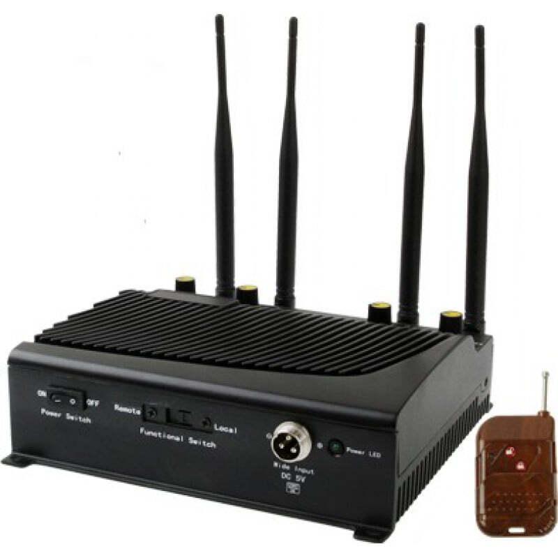 Cell Phone Jammers 4 Antennas. Signal blocker GSM 40m