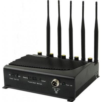 5 antennes. Puissant bloqueur de signal