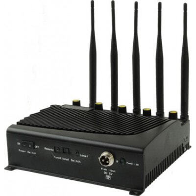 5 Antennas. Powerfull signal blocker