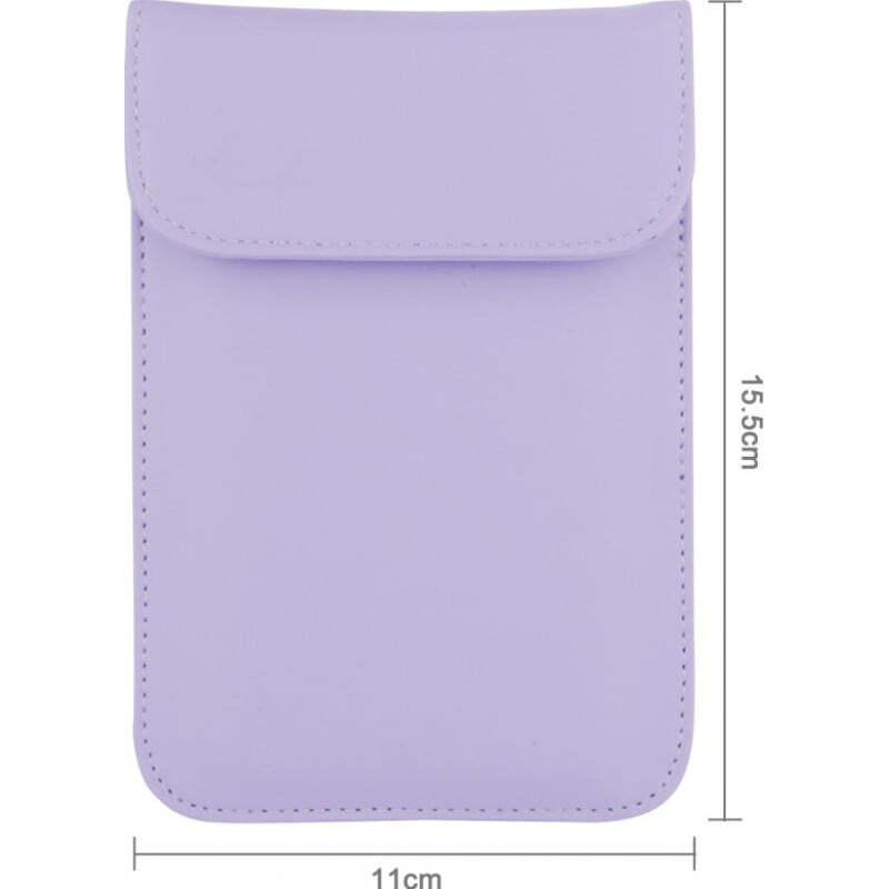 Störsender-Zusätze Strahlenschutzbeutel. Etui zur Signalblockierung für Smartphones. Lila Farbe