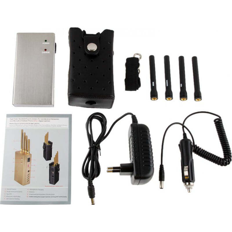 Cell Phone Jammers High power portable signal blocker Portable 15m