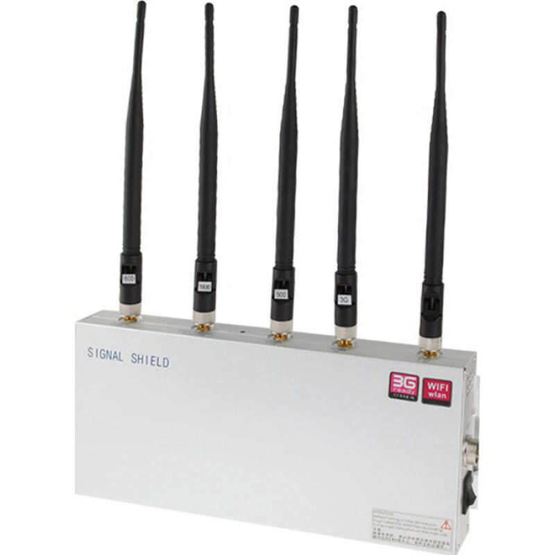 129,95 € Free Shipping | Cell Phone Jammers Signal blocker 20m