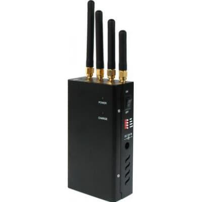 129,95 € Envío gratis | Bloqueadores de Teléfono Móvil Bloqueador de señal portátil de alta potencia Portable 15m