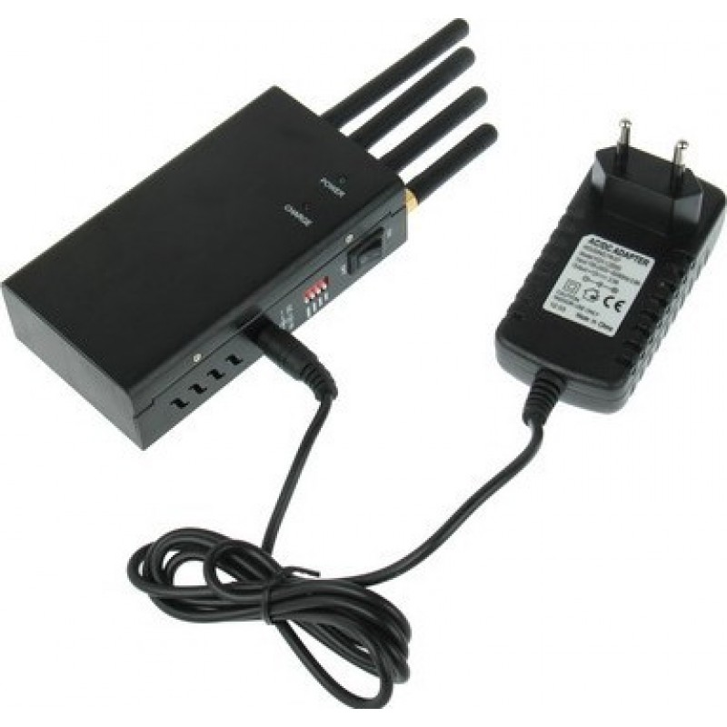 129,95 € Free Shipping   Cell Phone Jammers High power portable signal blocker Portable 15m