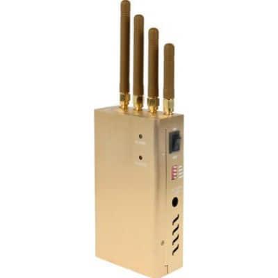 109,95 € Envío gratis | Bloqueadores de Teléfono Móvil Bloqueador de señal portátil de alta potencia Portable 15m