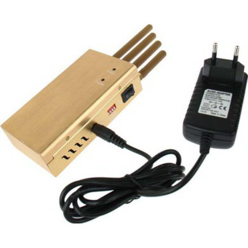 109,95 € 免费送货 | 手机干扰器 高功率便携式信号阻断器 Portable 15m