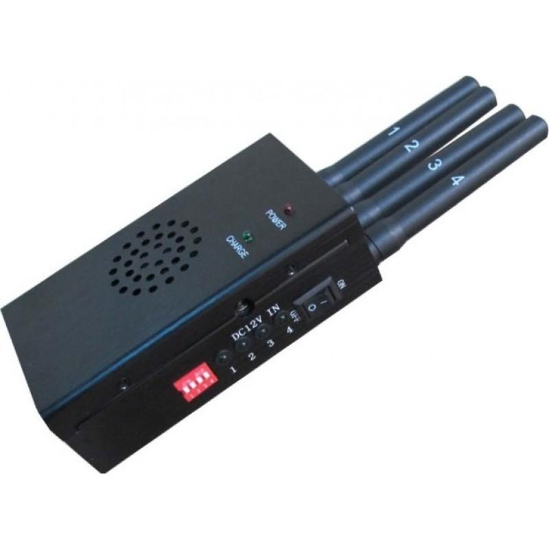 Аксессуары для ингибиторов Высококачественный блокиратор сигналов GPS и сотовых телефонов / антенна Jammer (4 шт.)