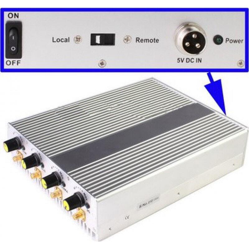 Cell Phone Jammers Adjustable and remote control desktop signal blocker 3G Desktop