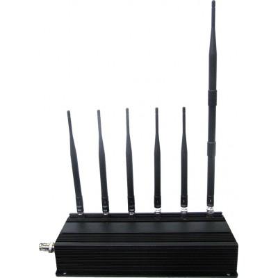 234,95 € Envío gratis | Bloqueadores de Teléfono Móvil Bloqueador de señal de escritorio GSM Desktop