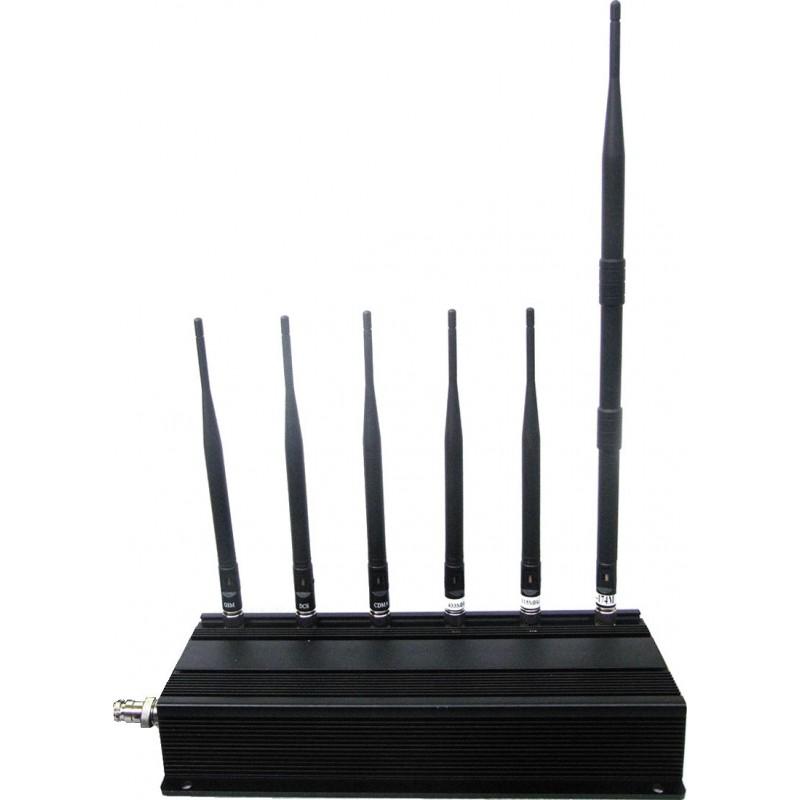 234,95 € 送料無料 | 携帯電話ジャマー デスクトップ信号ブロッカー GSM Desktop