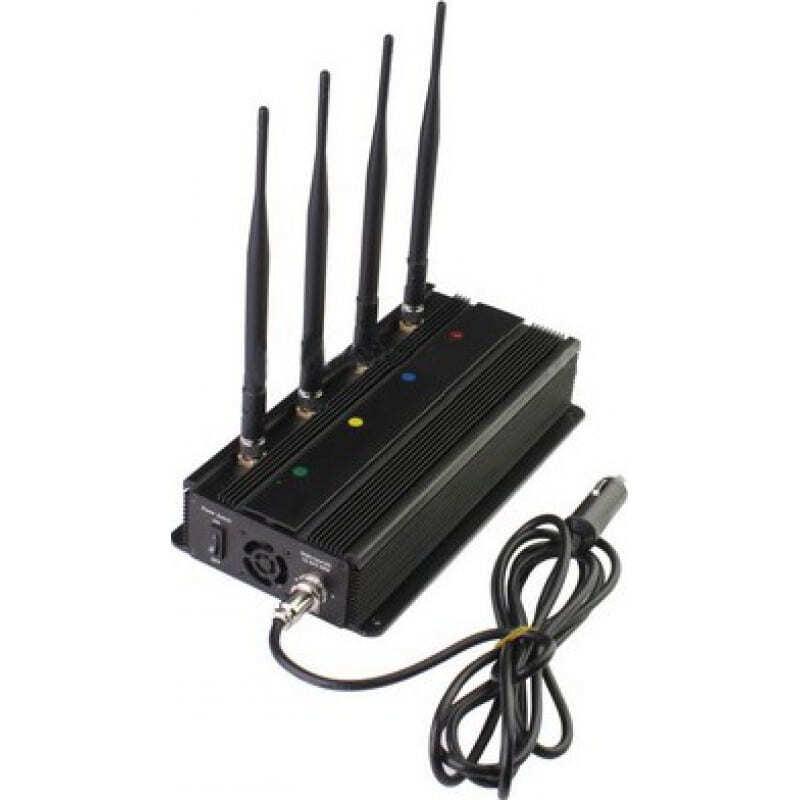 Блокаторы мобильных телефонов Установленный на транспортном средстве блокатор сигналов GSM