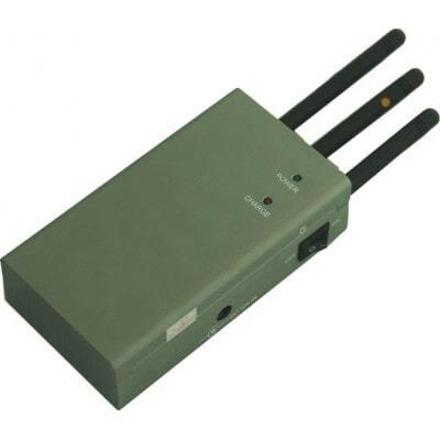 High power mini portable signal blocker