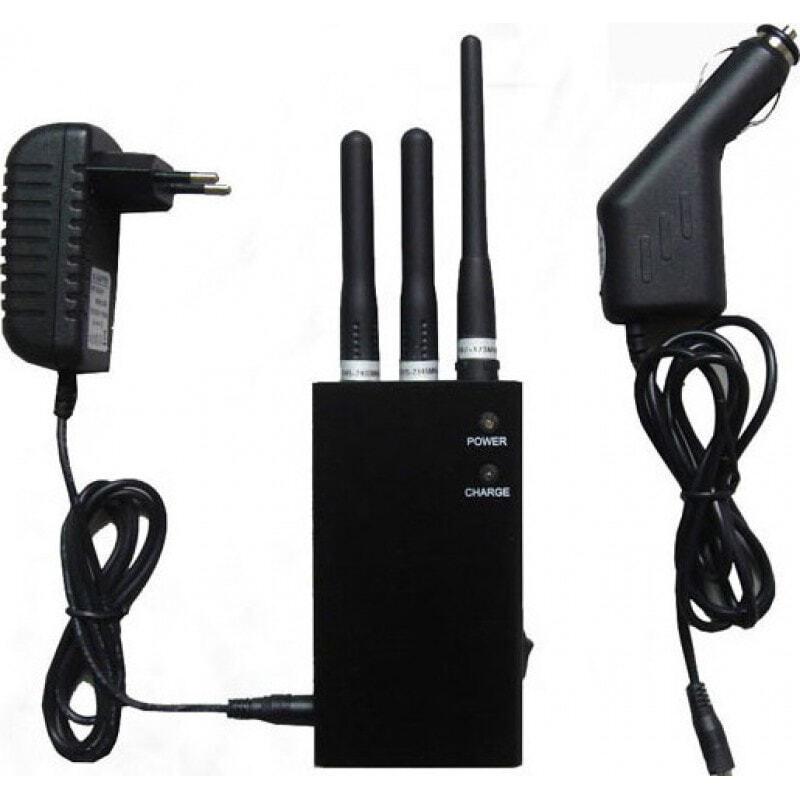 Блокаторы мобильных телефонов Портативный беспроводной блокиратор сигналов 4G Portable
