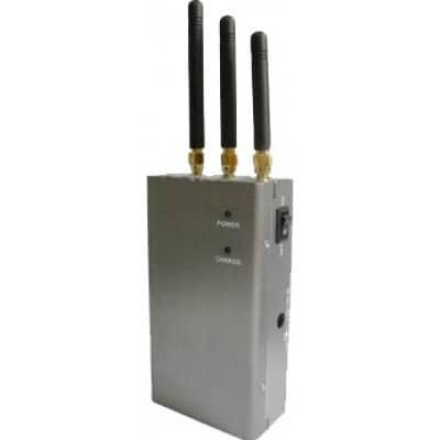 Sensitive portable signal blocker