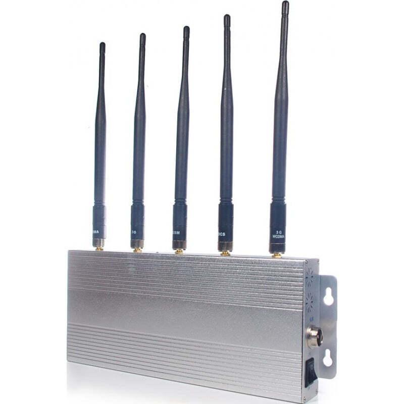 129,95 € Envoi gratuit | Bloqueurs de Téléphones Mobiles Bloqueur de signal de bureau. 5 antennes 3G Desktop