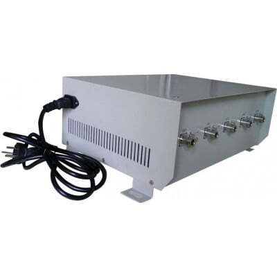 70W Remote control signal blocker with directional antennas