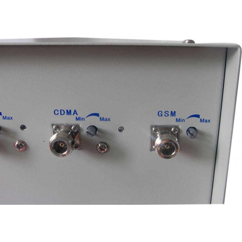 Bloqueurs de Téléphones Mobiles 70W Bloqueur de signal de télécommande avec antennes directives 3G