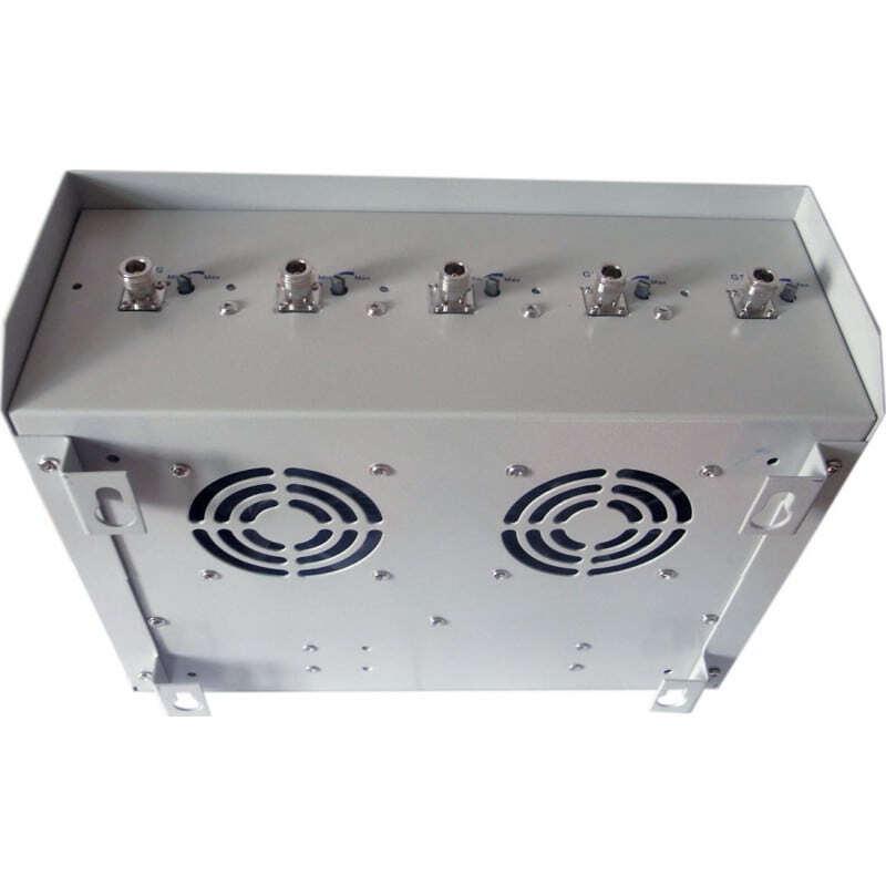手机干扰器 70W高功率信号阻断器,带全向天线 3G