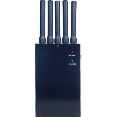 Портативный блокиратор всех частот. 5 антенн