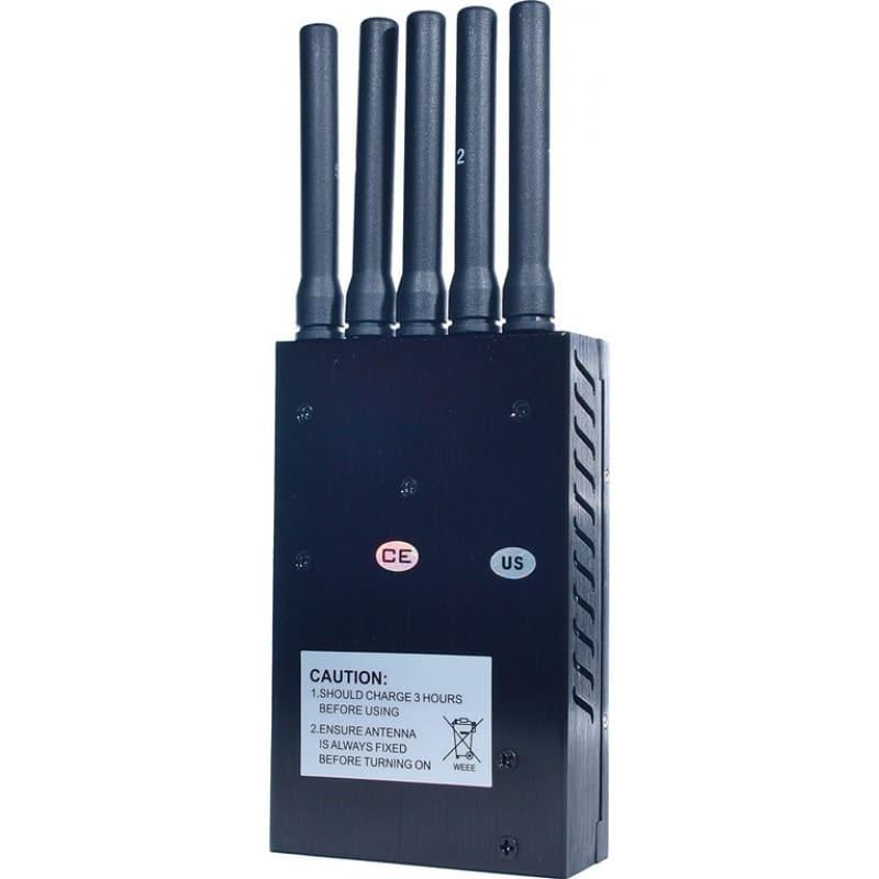 Bloqueurs de Téléphones Mobiles Bloqueur de signaux portable toutes fréquences. 5 antennes 3G Portable