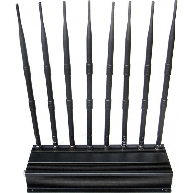 WiFi Jammers Desktop signal blocker. 8 Bands VHF Desktop