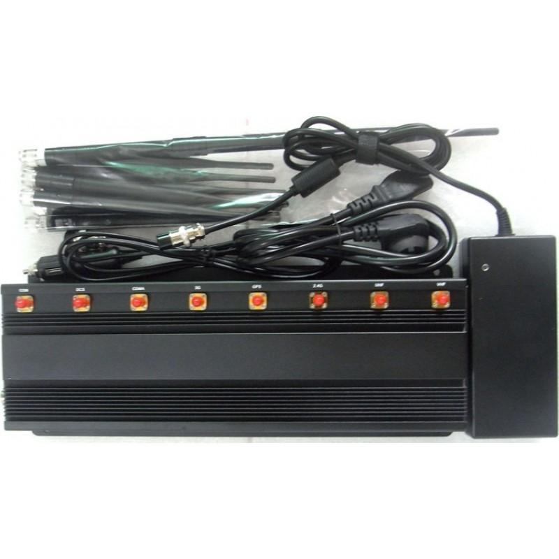 Bloqueurs de WiFi Bloqueur de signal de bureau. 8 groupes VHF Desktop