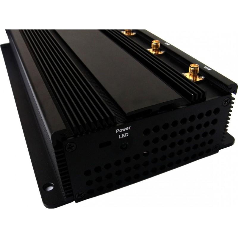 259,95 € Envoi gratuit | Bloqueurs de Télécommande Puissant bloqueur de signal de bureau VHF Desktop
