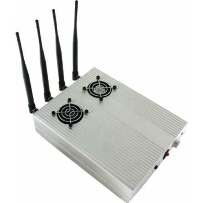 Bloqueurs de Télécommande Bloqueur de signal de bureau et antidémarrage VHF Desktop