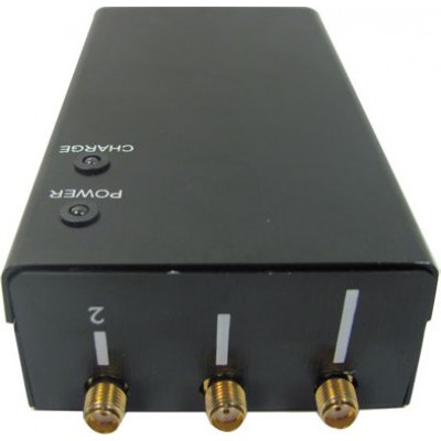5 bandes. Bloqueur de signal sans fil portable