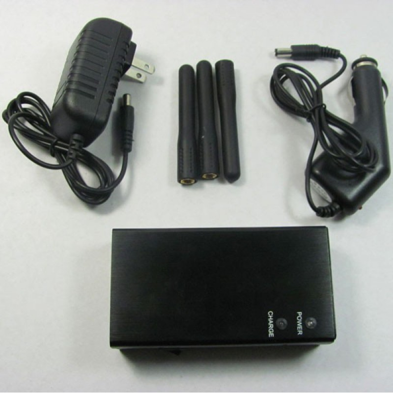 Bloqueurs de Téléphones Mobiles 5 bandes. Bloqueur de signal sans fil portable Portable