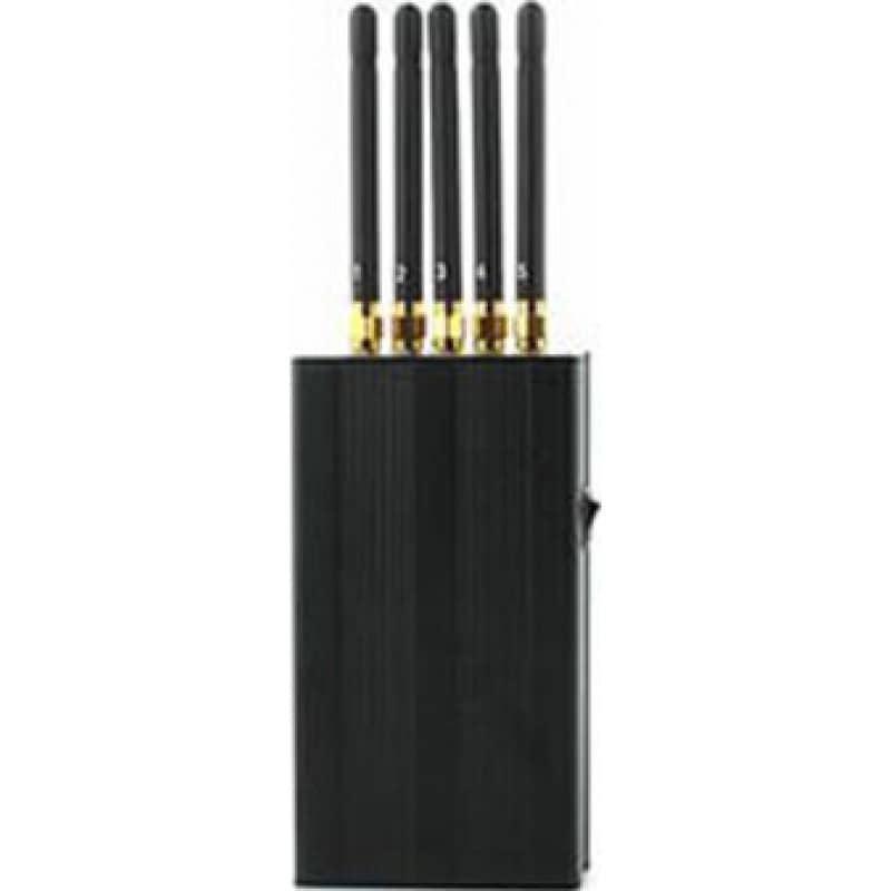Bloqueurs de GPS 5 antennes. Bloqueur de signal portable Portable