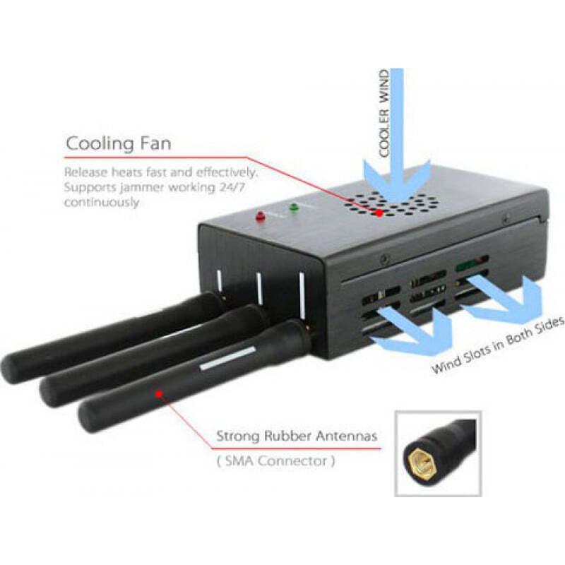 Bloqueurs de WiFi Bloqueur de signal sans fil haute puissance
