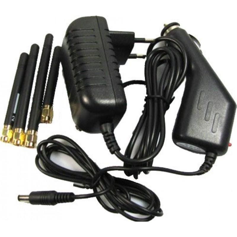 49,95 € 免费送货 | 手机干扰器 5波段信号阻断器