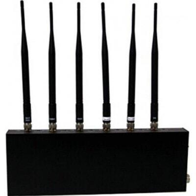 Bloqueadores de Teléfono Móvil Bloqueador de señal. 6 antenas