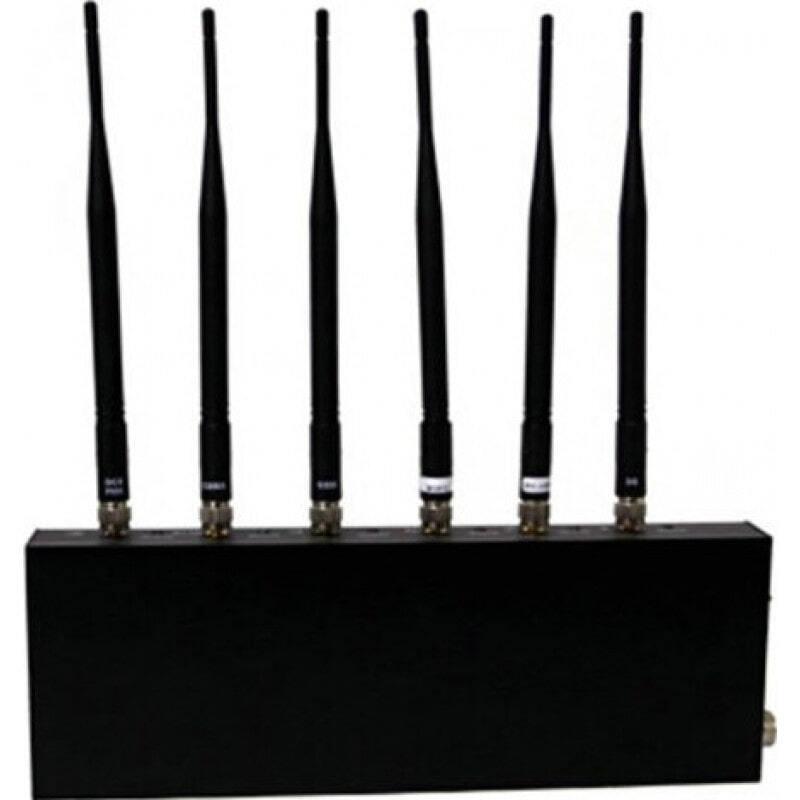 Bloqueurs de Téléphones Mobiles Bloqueur de signal. 6 antennes