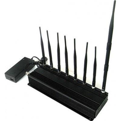 Bloqueurs de Téléphones Mobiles 8 bandes. Bloqueur de signal haute puissance 3G