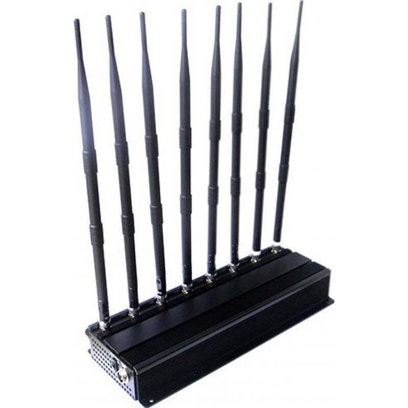 289,95 € Envío gratis | Bloqueadores de Teléfono Móvil bloqueador de señal de 8 bandas VHF