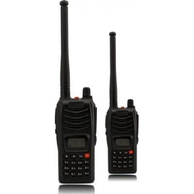 Conjunto de walkie-talkie de longo alcance (UHF 220v)