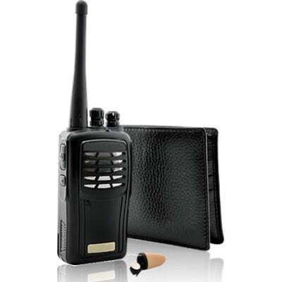 The Super Sneak. Wireless audio receiver. Spy kit