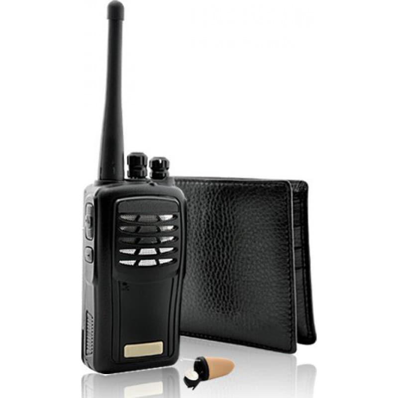 Signalmelder Der Super Sneak. Kabelloser Audio-Empfänger. Spion-Kit