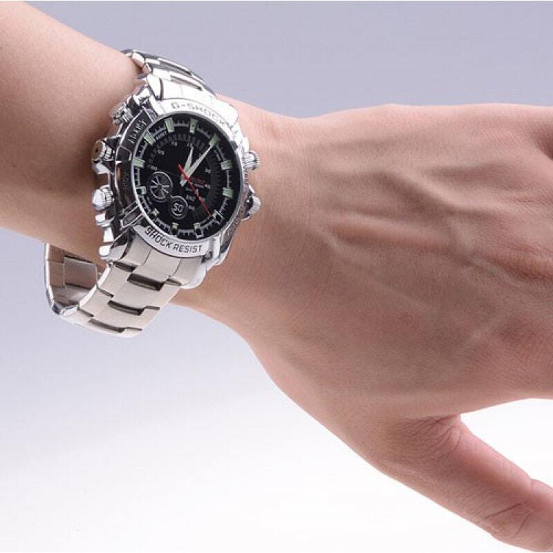 49,95 € Envoi gratuit | Montres à Bracelet Espion Caméra espion infrarouge HD étanche. Mini enregistreur vidéo numérique (DVR) 8 Gb 1080P Full HD