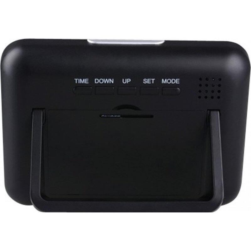 54,95 € Free Shipping   Clock Hidden Cameras Multifunctional alarm clock. Remote control (RC). Motion detection. Spy hidden camera. Digital video recorder (DVR). High resolu