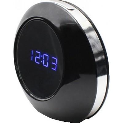54,95 € Envio grátis | Relógios Espiã Despertador multifuncional. Controle remoto. Detector de movimento. Câmera escondida do espião. Gravador de vídeo digital. HD 8 Gb
