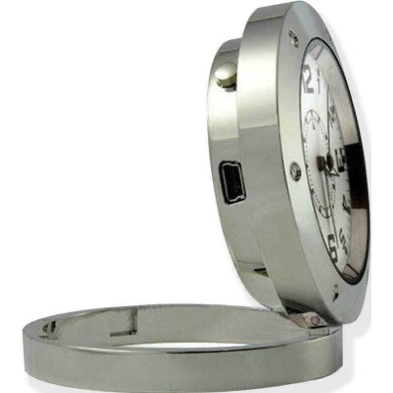 39,95 € Free Shipping | Clock Hidden Cameras Analog clock with hidden camera. Digital video recorder (DVR)