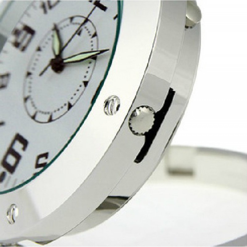 39,95 € Envoi gratuit | Montres Espion Horloge analogique avec caméra cachée. Enregistreur vidéo numérique (DVR)