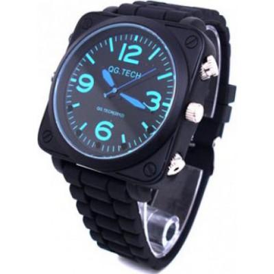 63,95 € Бесплатная доставка | Шпионские наручные часы Шпионские часы. ИК инфракрасная камера ночного видения. Водонепроницаемый. Звук активирован. Кожаный ремень. Pinhole скрытый циф 8 Gb 1080P Full HD